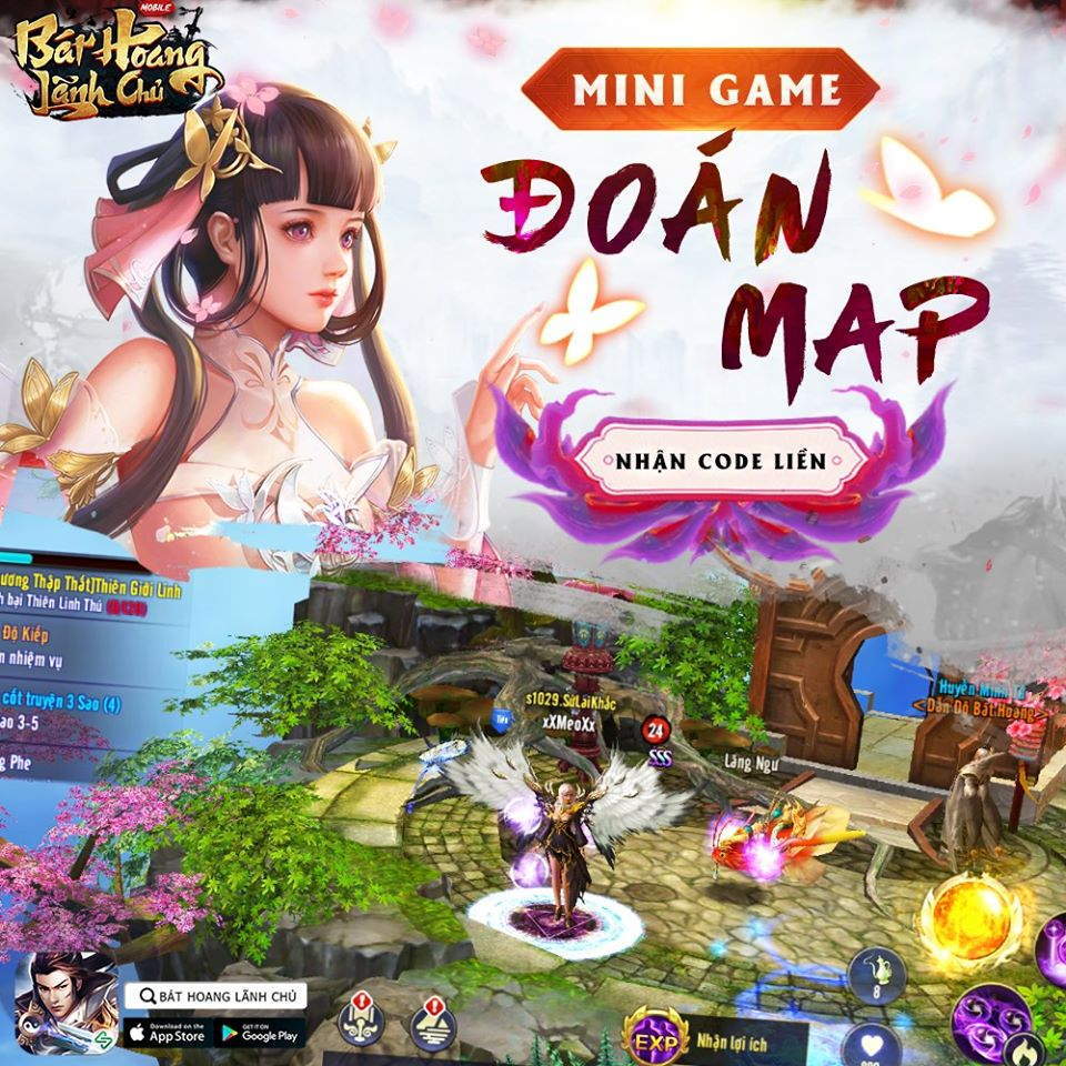 [MINI GAME] THỬ TÀI ĐOÁN MAP