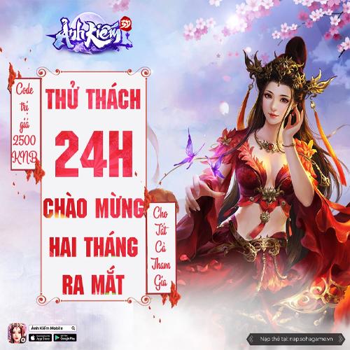 EVENT- THỬ THÁCH 24H CHÀO MỪNG 2 THÁNG RA MẮT - 1