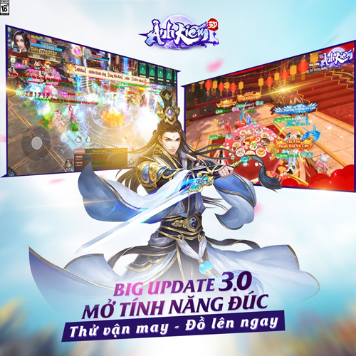 BIG UPDATE 3.0- TÍNH NĂNG ĐÚC