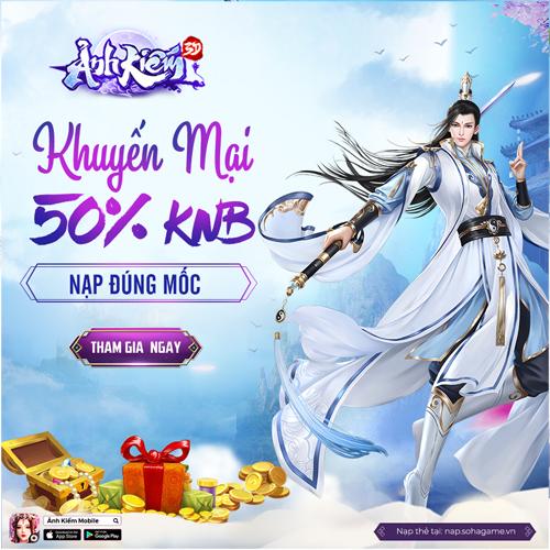 HOT EVENT - KHUYẾN MẠI 50% KNB - 1