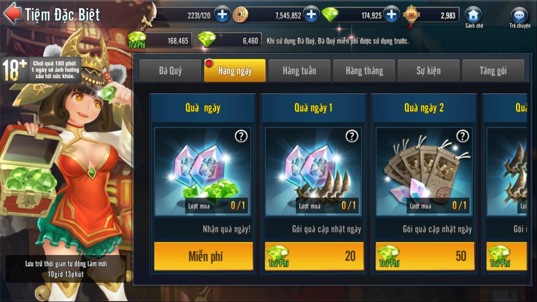 [Tính Năng] Tiệm Đặc Biệt Game Loạn Thế Anh Hùng 3Q - 4