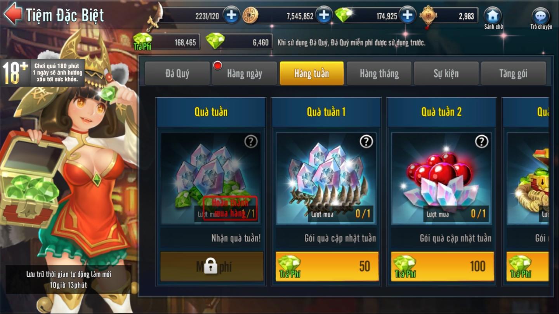 [Tính Năng] Tiệm Đặc Biệt Game Loạn Thế Anh Hùng 3Q - 5
