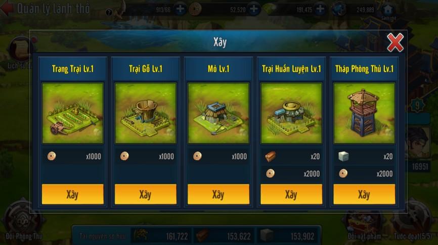 [Tính Năng] Lãnh Thổ Game Loạn Thế Anh Hùng 3Q - 3