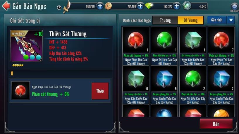 [Tính Năng] Bảo Ngọc Game Loạn Thế Anh Hùng 3Q - 3
