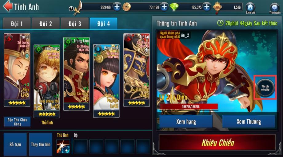 [Tính Năng] Bạn Bè Game Loạn Thế Anh Hùng 3Q - 3