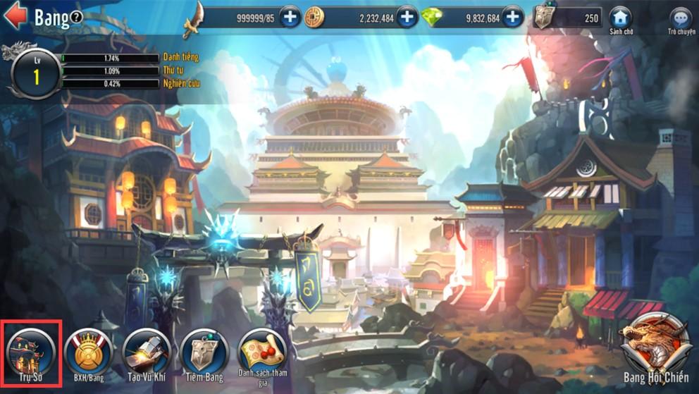 [Tính Năng] Bang Hội Game Loạn Thế Anh Hùng 3Q - 2