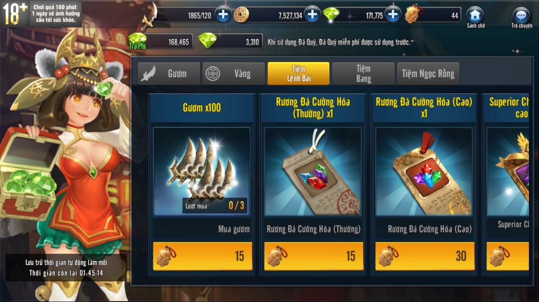 [Tính Năng] Tiệm Tổng Hợp Game Loạn Thế 3Q - 4