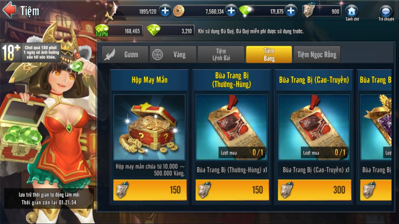 [Tính Năng] Tiệm Tổng Hợp Game Loạn Thế 3Q - 5