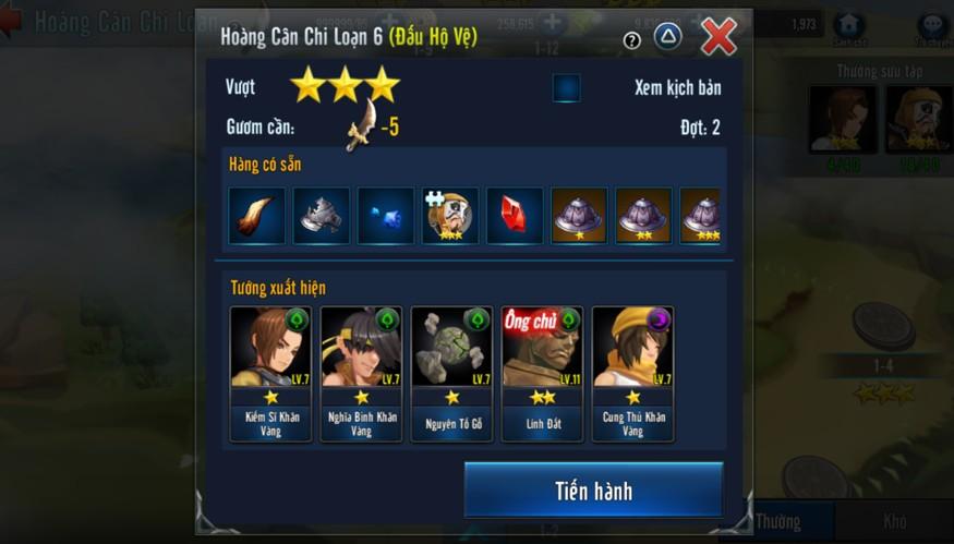 [Hoạt Động] Trận Chiến Game Loạn Thế Anh Hùng 3Q - 4
