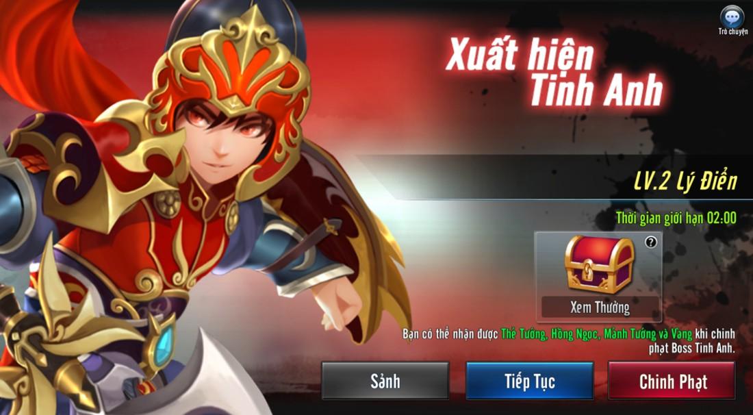 [Hoạt Động] Boss Tinh Anh Game Loạn Thế Anh Hùng 3Q - 1