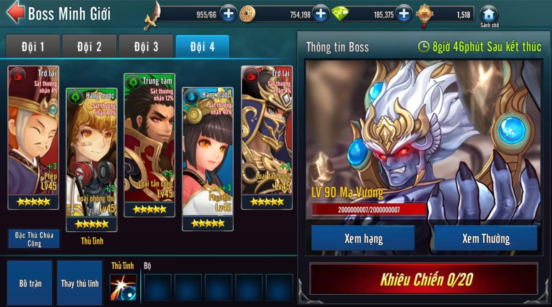 [Hoạt Động] Cổng Minh Giới Game Loạn Thế Anh Hùng 3Q - 3