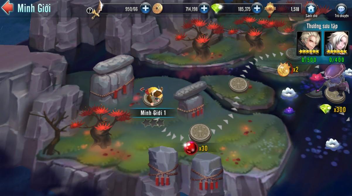[Hoạt Động] Cổng Minh Giới Game Loạn Thế Anh Hùng 3Q - 4