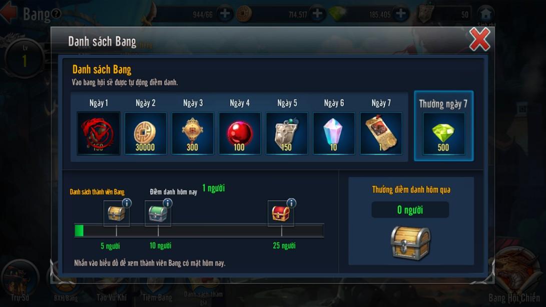 [Hoạt Động] Bang Game Loạn Thế Anh Hùng 3Q - 2