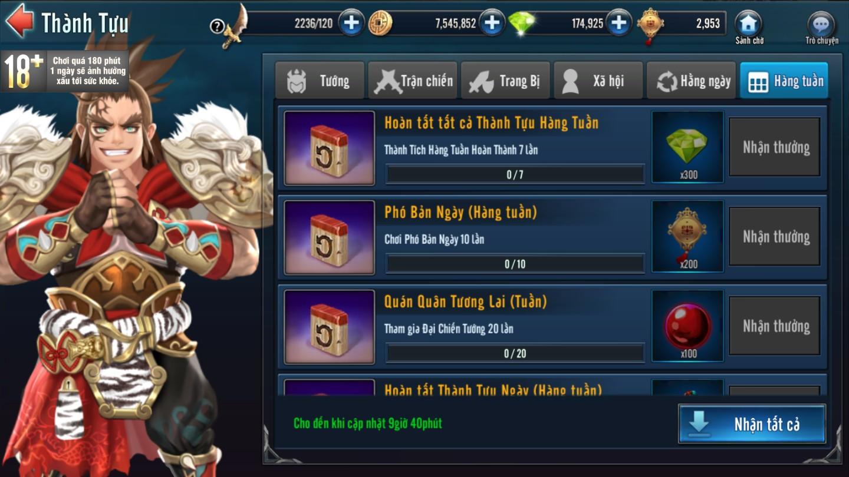 [Hoạt Động] Thành Tựu Trong Game Loạn Thế Anh Hùng 3Q - 4